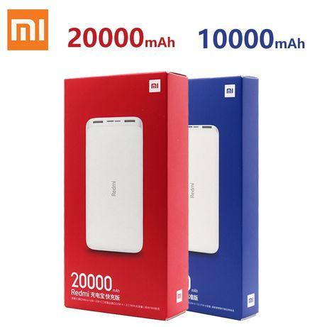 Redmi powerbank 20000, 10000 , павербанк xiaomi, пауэрбанк