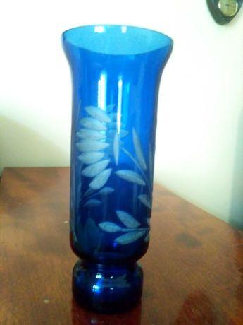 ваза цветное стекло ссср (синее, красное)