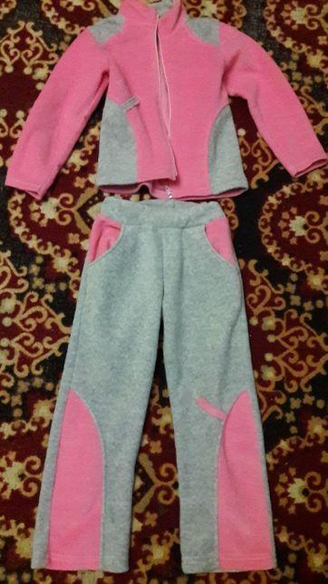 Флісовий костюм на дівчинку ТМ *Робінзон* р.110
