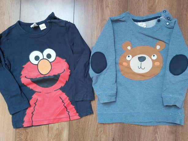 Bluza sweter h&m dla chłopca 92