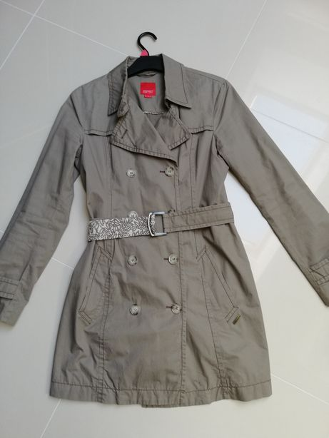 Płaszcz Esprit M, 38. Płaszczyk na wiosnę, trencz, parka, logowany