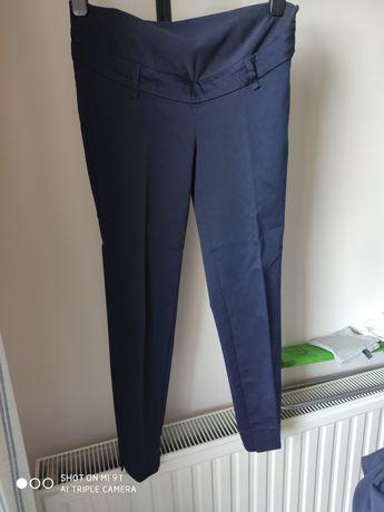 Eleganckie spodnie typu cygaretki ciążowe h&m mama 36