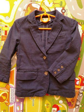 Пиджак льняной H&M 2-3-4 года