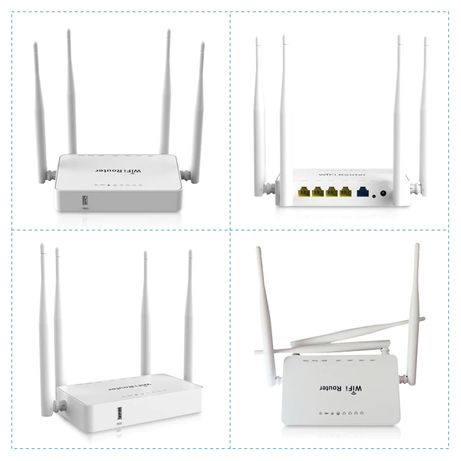 ROUTER Wifi 4 antenas Openwrt