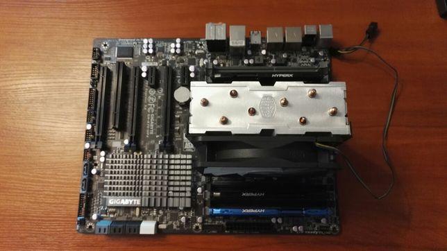 Procesor Intel i7-4930k + płyta główna Gigabyte GA-X79-UP4 + 16 GB RAM