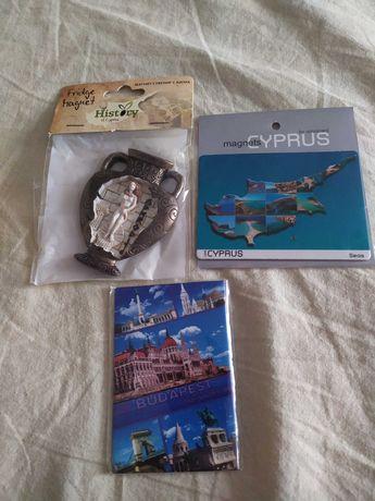 Магниты, сувенирные магнитики, сувениры из Европы, магнитики