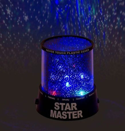 Проектор звездного неба Star master Black