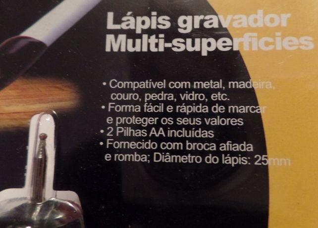 Lápis Gravador Multi-Superfícies Novo/Selado (AJ)