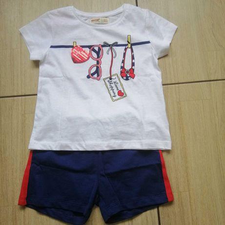 Комплект футболка шорты 5-6л.р.110 (Турция. Набор)
