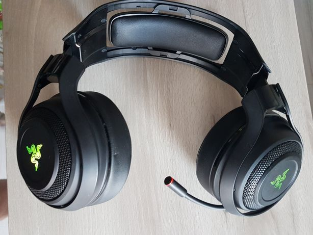 Bezprzewodowe słuchawki gamingowe Razer ManO'War 7.1