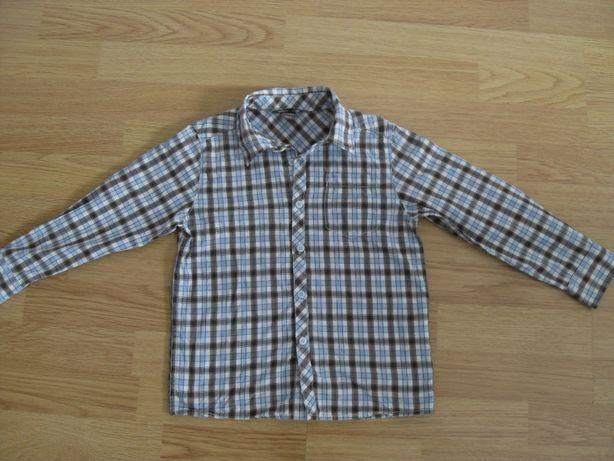 рубашка в клетку H&M, размер 110