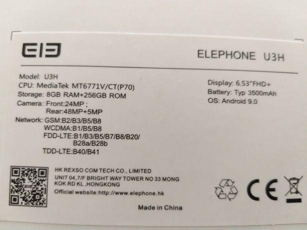 Vendo smartphone ELEPHONE U3H simi novo, com pouco uso