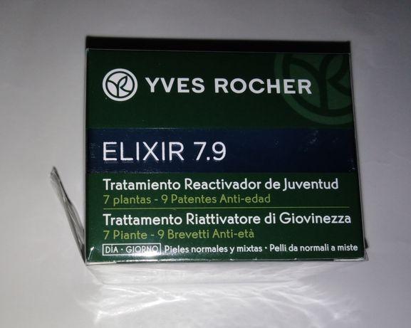 SALDOS - Creme activador de juventude Elixir 7.9 da Yves Rocher, NOVO.