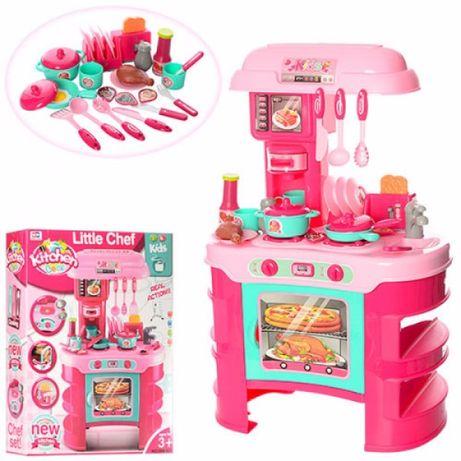 Кухня дитяча,детская Little Chief тостер, кофеварка, посуда