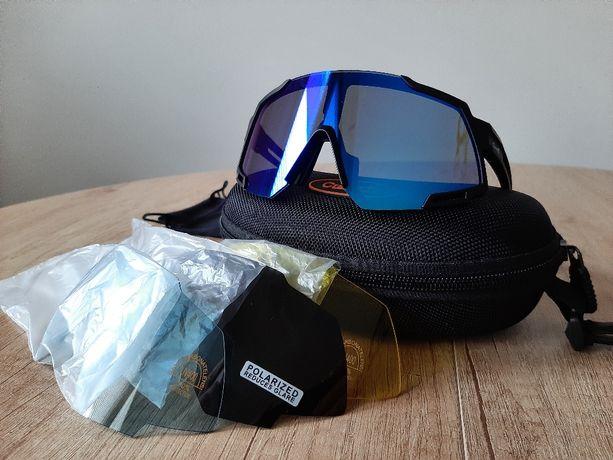 Nowe okulary sportowe z polaryzacją