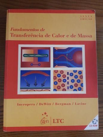 """Livro """"Fundamentos de Transferência de Calor e de Massa"""""""