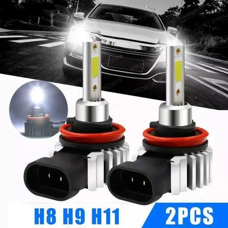 LED Лед лампы для авто,Автолампы,Светодиодные противотуманные Н8 H11