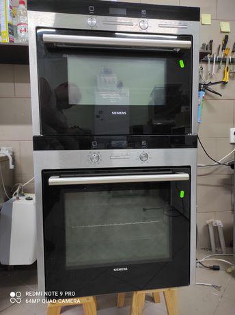 Комплект Духовой шкаф микроволновка.Siemens.