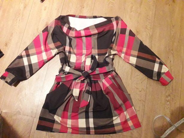 Платье в стиле Burberry размер S-M