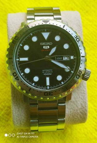 SEIKO SRPC61j1 (bottle cap) orient citizen Omega Tissot Rolex Longines