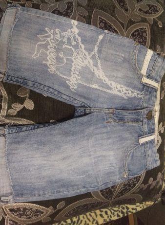 Шортики Капри бриджи для девочки.Низкая цена.Модные шорты