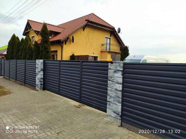 Ogrodzenia nowoczesne ogrodzenie pod wymiar wiaty garażowe