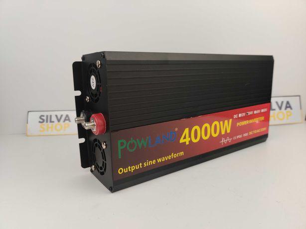 Inversor de Tensão - ONDA PURA - 4000W Conversor 12V & 24V para 220V