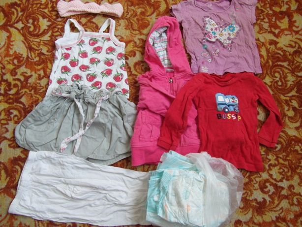 Пакет для девочки 3-12 месяцев