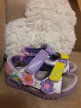 Босоножки сандали детские для девочки 21 р 12.5 см стелька