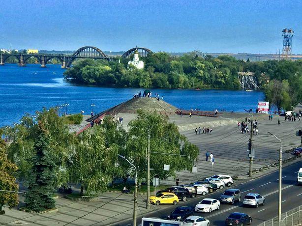 LUX апартаменты на Набережной с видом на Днепр! 2часа-500грн !!!
