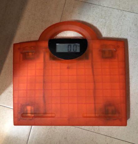 Balança Digital laranja