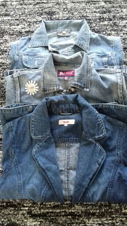 Kurtki jeansowe M,S