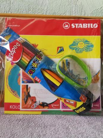 Kolorowanka, kredki, zestaw upominkowy dziecięcy