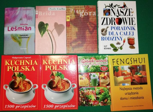 Książki po 9zł Coelho Grochola Christie Sienkiewicz Austen kuchnia
