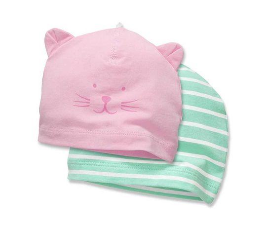 Комплект новых очаровательных шапочек на малышку Tchibo