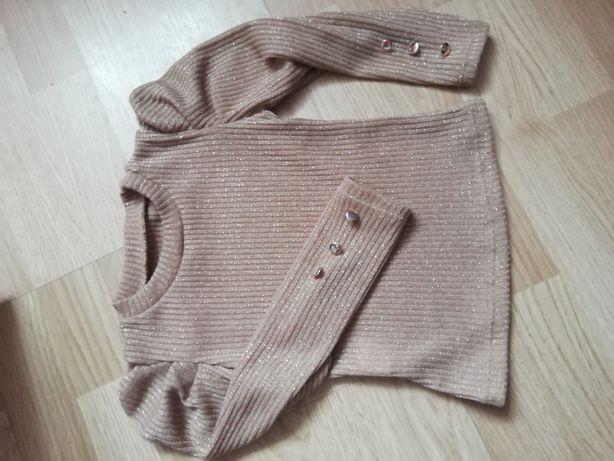 Bluzeczka pufki 98