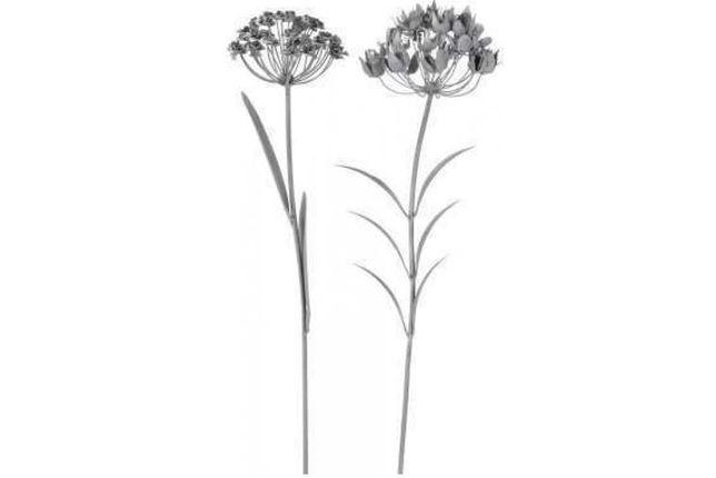 hortensja ogrodowa metalowa kwiat ozdobny 103 cm