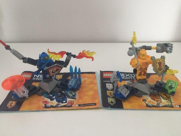 Lego nexo knights 70330 i 70336