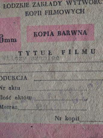 film wilczy szaniec 16 mm kopia barwna