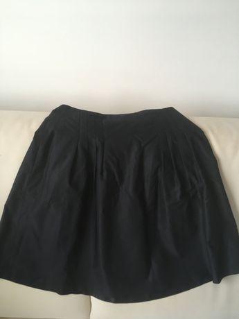 Granatowa spódnica