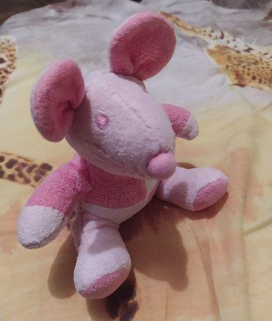 Игрушка мышка. Мягкая погремушка