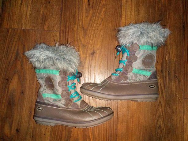 Buty śniegowce Clarks rozmiar 31