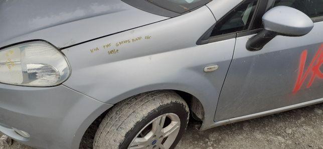Błotnik Lewy Przedni Przód FIAT GRANDE PUNTO 05r-09r 589/A