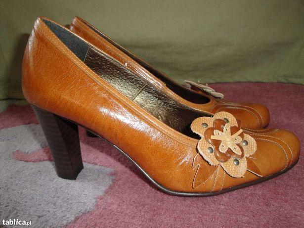 MASSIMO LUCCHESi-skóra R.37-nowe , szpilki , czółenka , buty