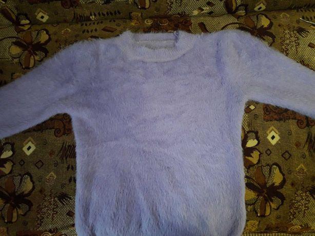 Лавандовий светр