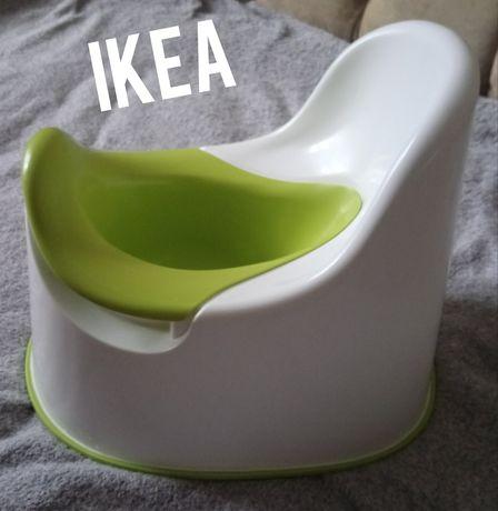 Горшок  ikea (молочно-салатовый )