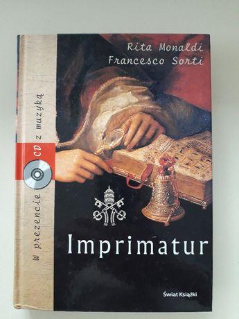 """książka """"Imprimatur"""" +CD"""