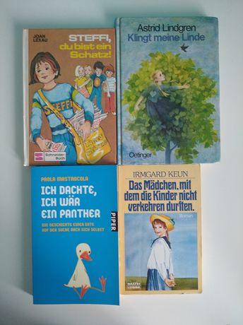 Książki po niemiecku Lindgren do nauki niemieckiego języka KOMPLET