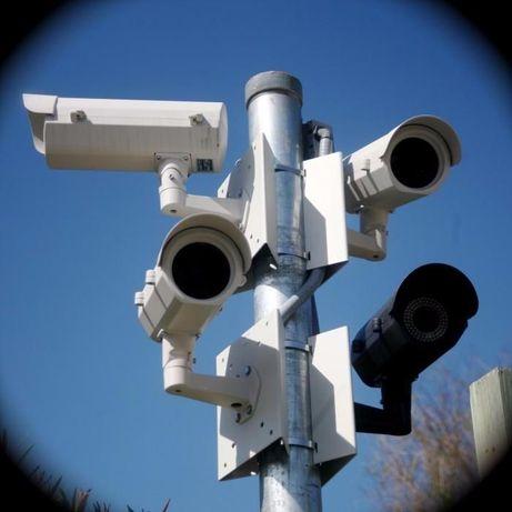 Монтаж систем відеоспостереження та сигналізації.