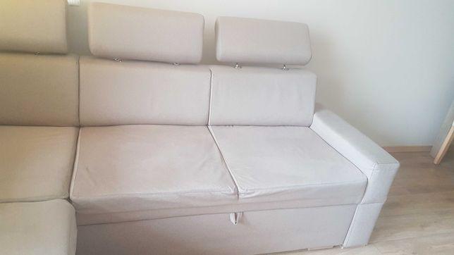 Narożnik kanapa rozkładana